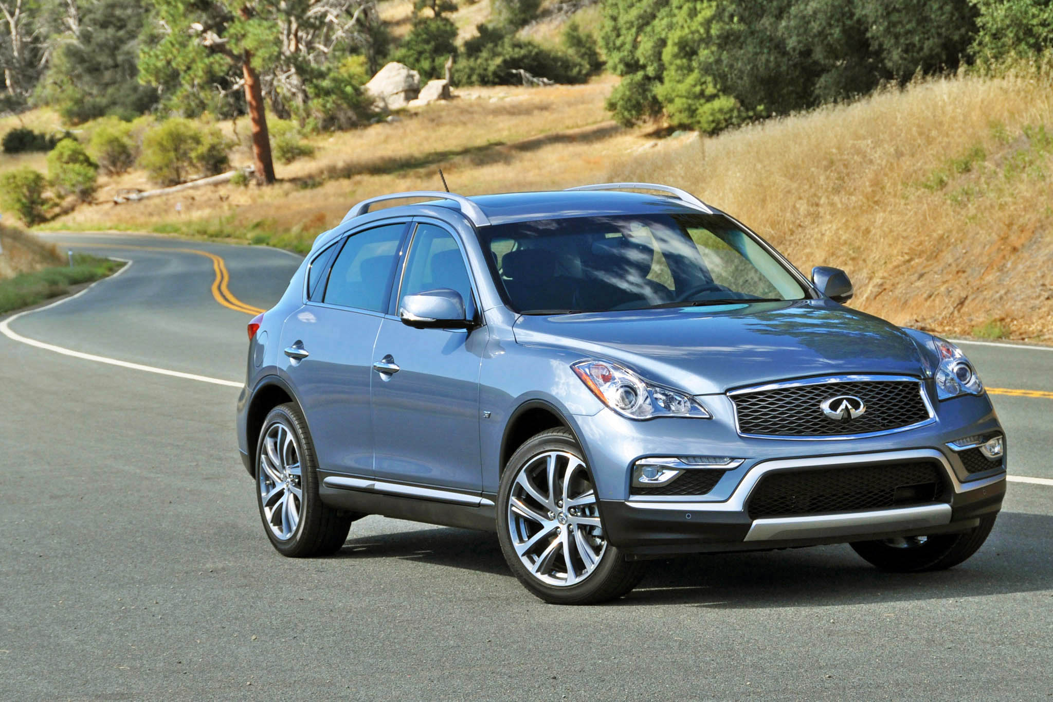 Infiniti knows that its revamped QX50 is simply a better variation on
